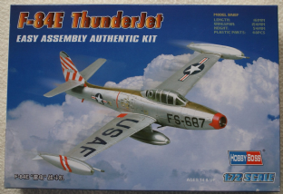 Hobbyboss 1/72 80246 Republic F-84E Thunderjet